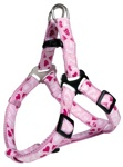 TRIXIE Modern Art Harness Rose Heart Шлейка для собак, размер S (розовый)