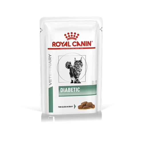 ROYAL CANIN DIABETIC Feline Диабетик (2 х 12 х 85 г) АКЦИЯ - фото