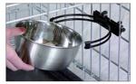MIDWEST Snap'y Fit Stainless Steel Bowl Чашка из нержавеющей стали, с винтовым креплением (300 мл)